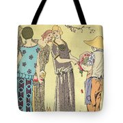 Summertime Dress Designs By Paul Poiret Tote Bag by French School