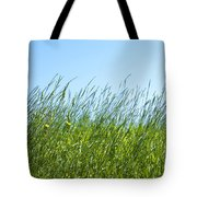 Summertime Grass Tote Bag