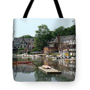 Summertime On Boathouse Row Tote Bag