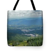 Summertime On Mt. Killington Tote Bag