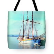 Summertime Will Be Soon And Then We Will Sail Away Again  Tote Bag