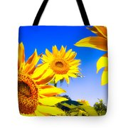 Summertime Sunflowers Tote Bag