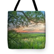 Summertime Sunset Tote Bag