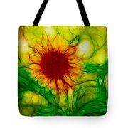 Sun And A Flower Tote Bag