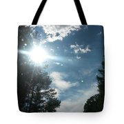 Sun And Country Tote Bag