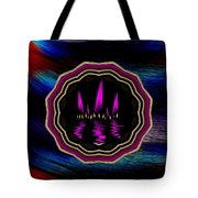 Sun And Flames Tote Bag