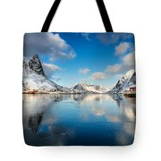 Sun And Ice Reinefjord Tote Bag
