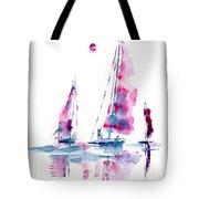 Sun And Sails Tote Bag