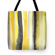 Sun And Shadows- Abstract Painting Tote Bag