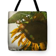 Sun And Sunflower Tote Bag