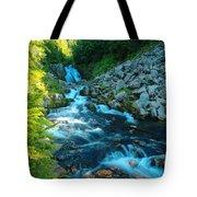 Sun Beam Falls Tote Bag