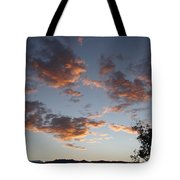 Sun Clouds Tote Bag