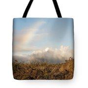 Sun - Clouds - Rainbow Tote Bag