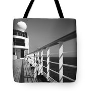 Sun Deck Shadows Tote Bag