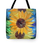Sun Flower II Tote Bag