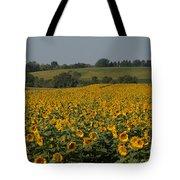 Sun Flower Sea Tote Bag