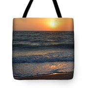 Sun Glistening On The Water Tote Bag