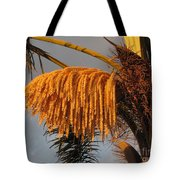 Sun Glowing Palm Tote Bag
