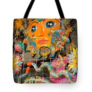 Wimberley Texas Sun Goddess And Her Court Tote Bag