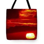 Sun In Descent Tote Bag