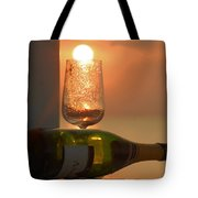 Sun In Glass Tote Bag