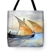 Sun In The Sails  Tote Bag