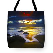 Sun Is Setting Tote Bag