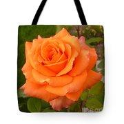 Sun Kiss Orange Tote Bag