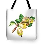 Sun Kissed Gooseberries Branch Tote Bag