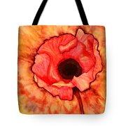 Sun Kissed Poppy Tote Bag
