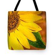 Sun-kissed Sunflower Tote Bag