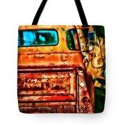 Sun Kissed Truck Tote Bag