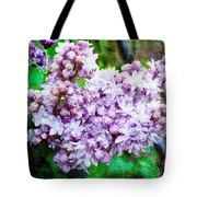 Sun Lit Lilac The Sweet Sign Of Spring Tote Bag