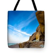 Sun On The Beach Tote Bag