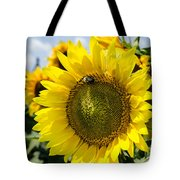 Sun On The Sunflower Tote Bag