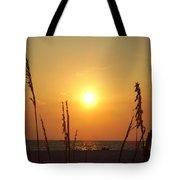 Sun Over The Ocean Tote Bag