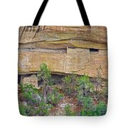 Sun Point Pueblo View-12-1300 Ad  On Chapin Mesa Top Loop Road In Mesa Verde National Park-colorado  Tote Bag