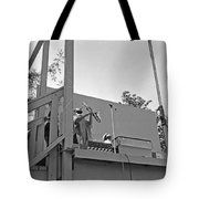 Sun Ra Arkestra Uc Davis Quad 3 Tote Bag by Lee  Santa