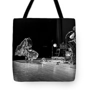 Sun Ra Dancer And Marshall Allen Tote Bag by Lee  Santa