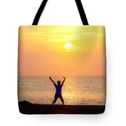 Sun Salutations Tote Bag