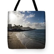 Sun Sand And Waves - Waikiki Honolulu Hawaii Tote Bag