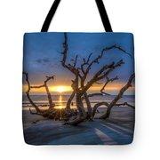 Sun Shadows Tote Bag