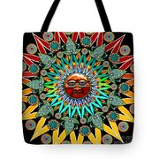 Sun Shaman Tote Bag by Christopher Beikmann