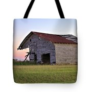 Sun Slowly Sets Tote Bag