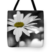 Sun-speckled Daisy Tote Bag