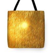 Sun Spot Abstrasct Tote Bag
