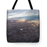 Sun Stained City Tote Bag