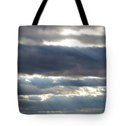 Sun Stairs Tote Bag