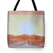 Sun Star Tote Bag