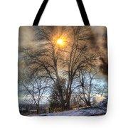 Sun Thru Smoke Tote Bag
